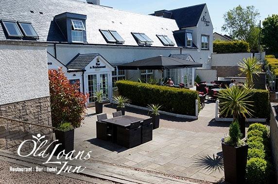 4* Old Loans Inn DBB, Troon – from £59