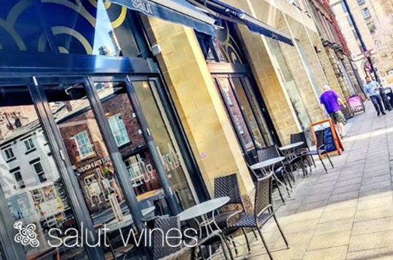 Wine & nibbles at Salut Wines