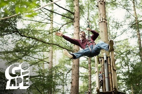 Go Ape Glentress Forest, Peebles