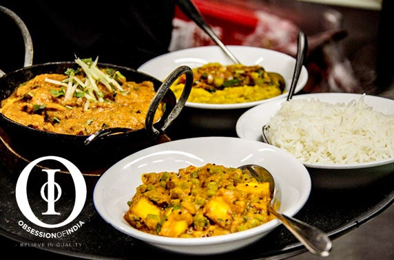 Obsession of India curries - from £7pp