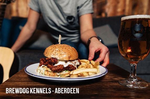 Newly-opened BrewDog Kennels, Aberdeen - £99