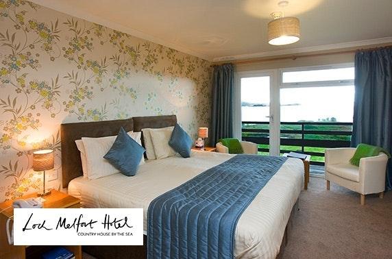 4* Loch Melfort Hotel stay, nr Oban