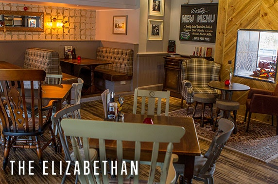 The Elizabethan Prosecco afternoon tea - valid 7 days