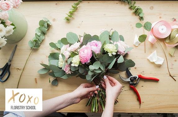XOXO Floristry School class, Peterculter