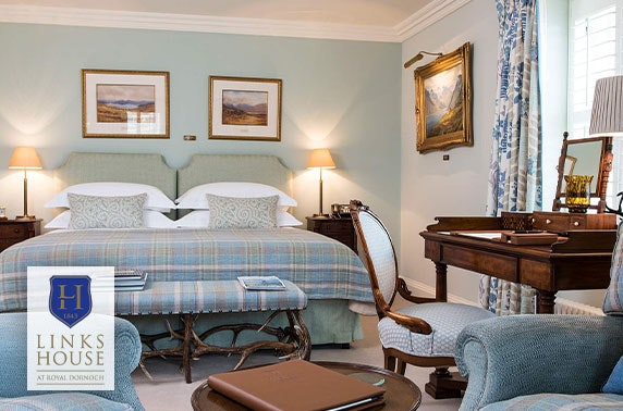Luxury 5* Links House at Royal Dornoch stay