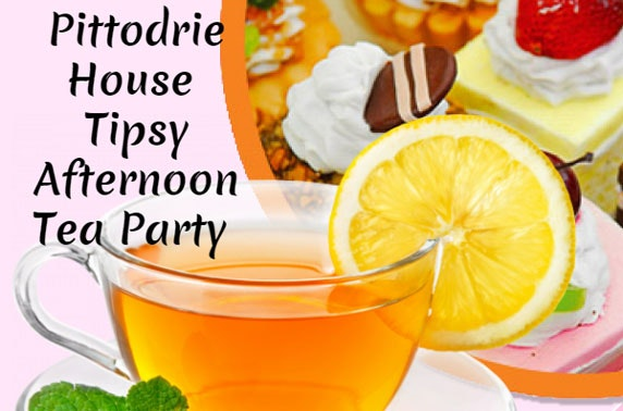 Tipsy afternoon tea party at 4* Macdonald Pittodrie House