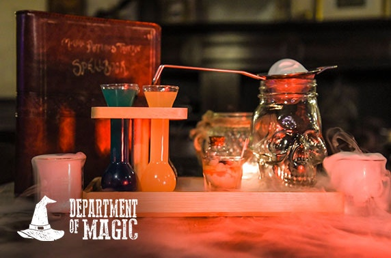 Department of Magic potion or escape room experiences