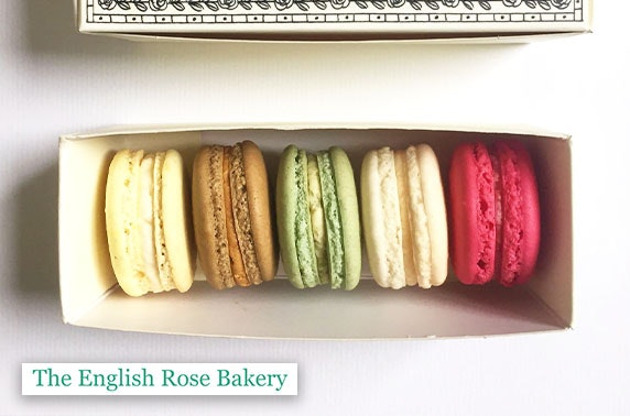 English Rose Bakery macarons