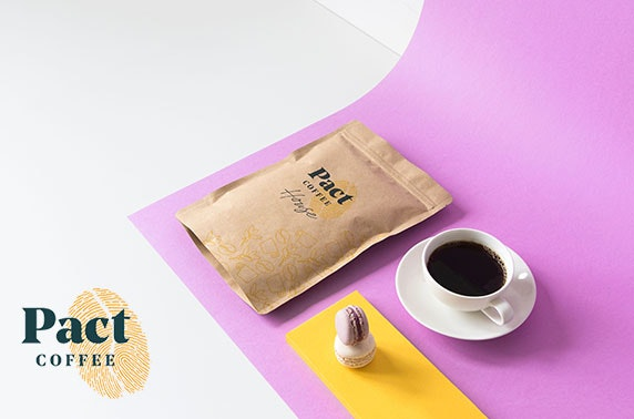Pact Coffee subscription - from £3 per month