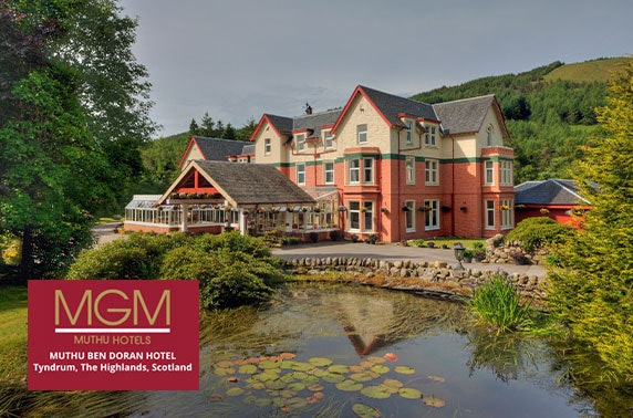 Ben Doran Hotel DBB, Loch Lomond - valid 7 days