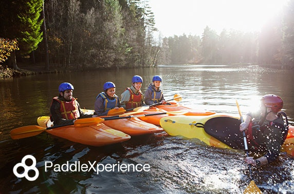 Paddleboard or kayak lesson