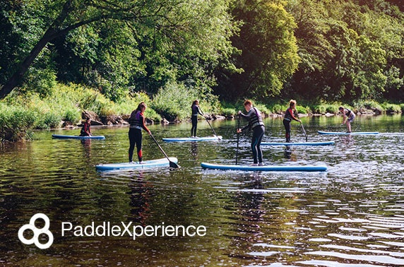Paddleboard or kayak lessons - valid 7 days