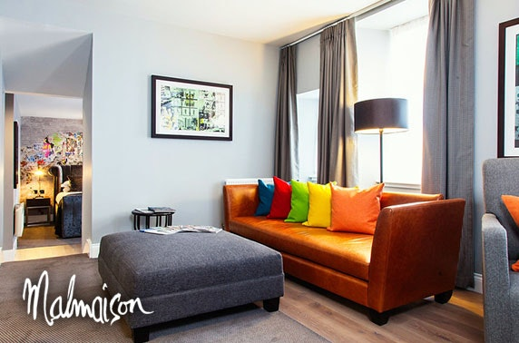 4* Malmaison, Edinburgh luxury suite stay - valid 7 days!