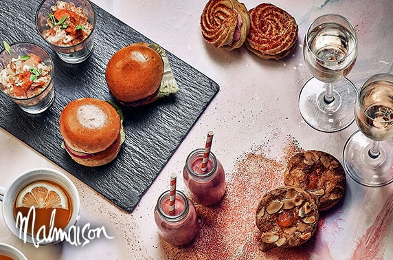 4* Malmaison Dundee Prosecco or gin afternoon tea