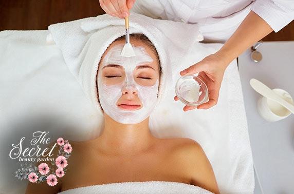 Medik8 facials or massages, The Secret Beauty Garden