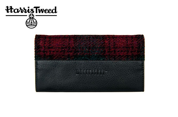 Harris Tweed ladies envelope purse