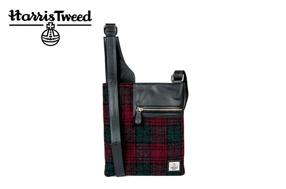 Harris Tweed medium cross body bag
