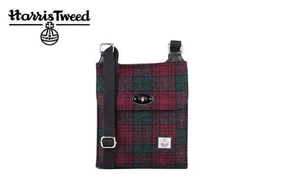 Harris Tweed satchel