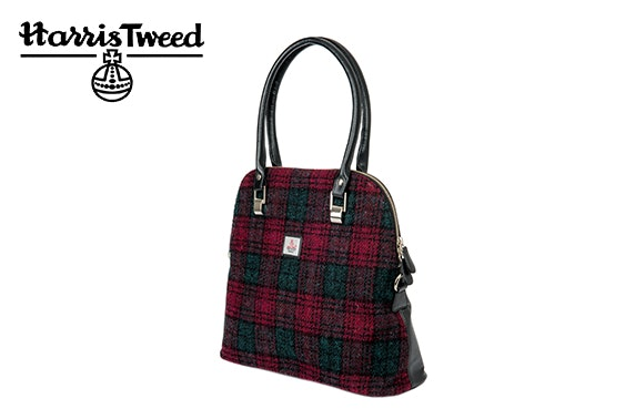 Harris Tweed large bowling bag