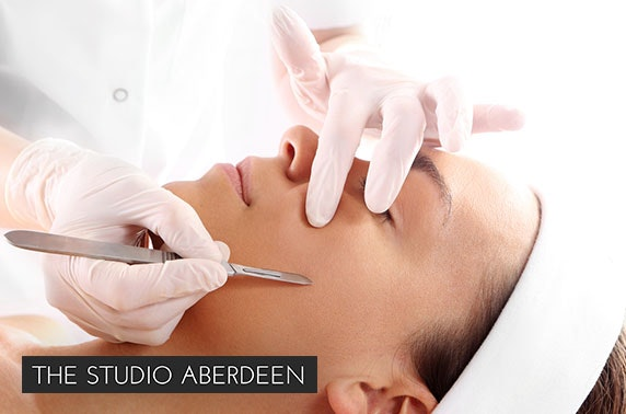 Choice of beauty treatments, The Studio Aberdeen