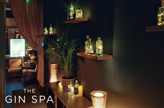Award-winning Gin Spa treatments & afternoon tea