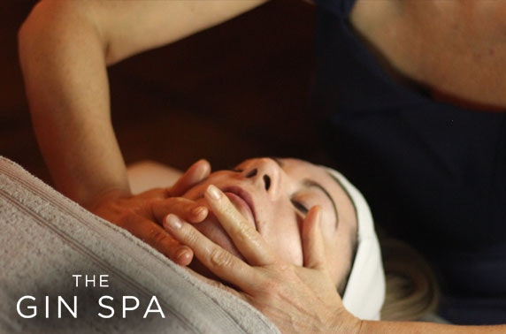 Award-winning Gin Spa treatments & afternoon tea