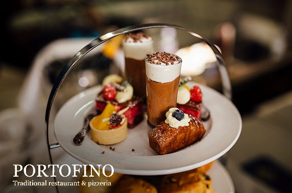 Portofino Italian afternoon tea, City Centre