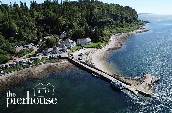 Multi-award-winning Pierhouse Hotel coastal escape