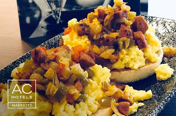 Unlimited brunch at AC by Marriott, Salford Quays