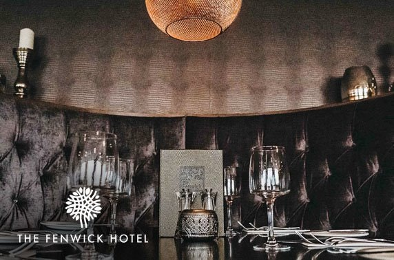 Fenwick Hotel afternoon tea with fizz