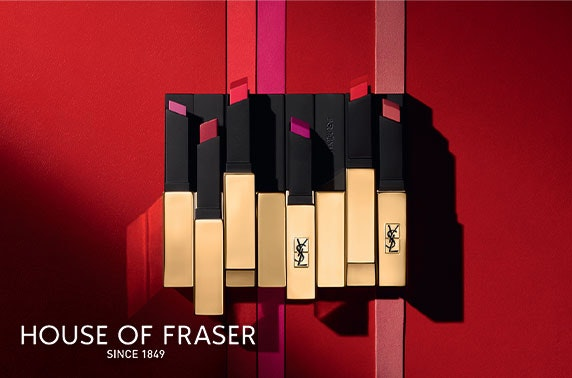 YSL makeover at House of Fraser, Buchanan Street