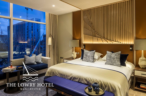 5* Lowry Hotel suite stay, Manchester