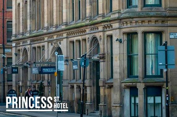 4* Princess St Hotel afternoon tea - valid 7 days