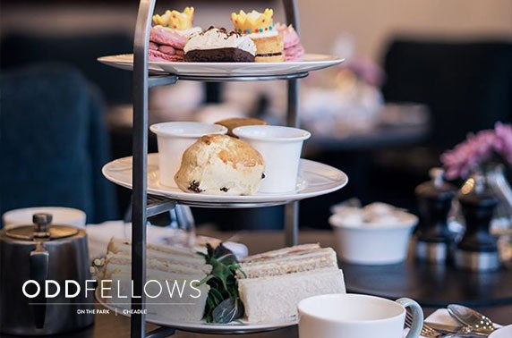 Oddfellows On the Park afternoon tea