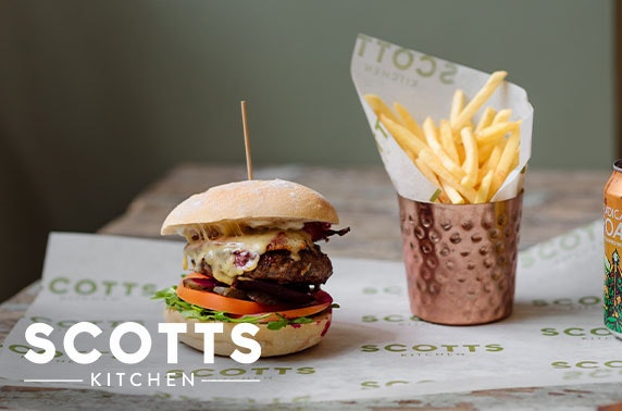 Scotts Kitchen fizz lunch, City Centre - valid 7 days