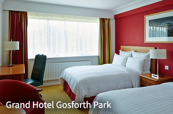 Grand Hotel Gosforth Park stay, Newcastle - from £59