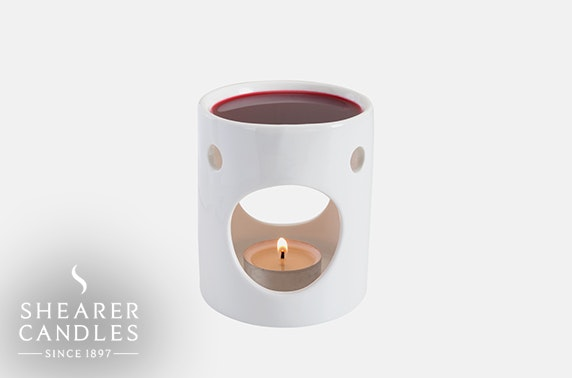 Shearer Candles wax burner & melts
