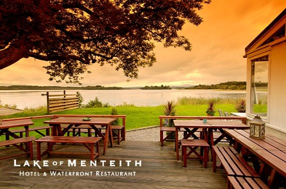 Romantic Lake of Menteith Hotel stay - valid 7 days