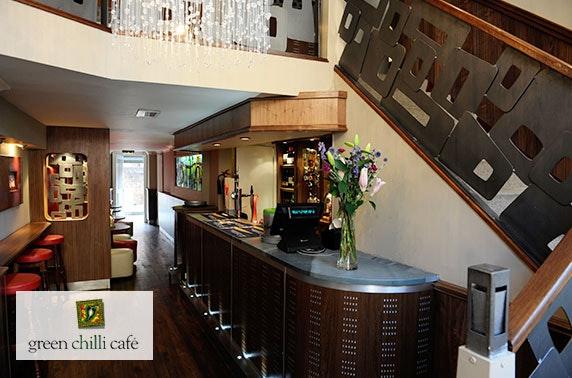 Green Chilli Café, West End takeaway