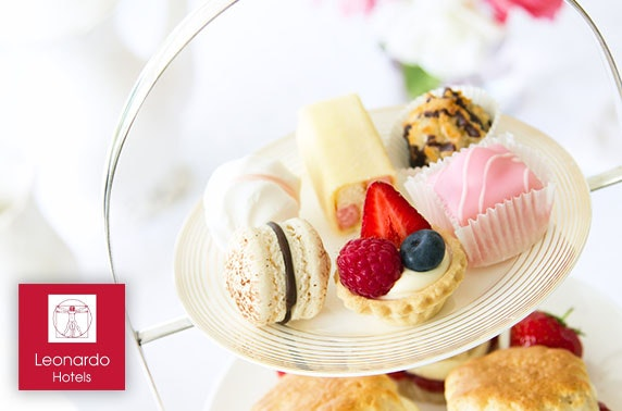 Leonardo Hotel afternoon tea, Murrayfield, valid Mother's Day