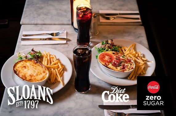Sloans mac & cheese - £6pp