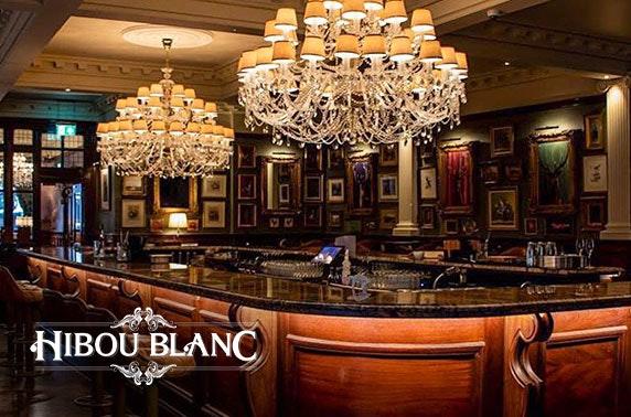 Newly-opened Hibou Blanc dining