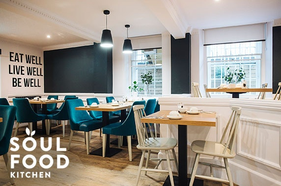 Vegan dining at Soul Food Kitchen, Finnieston
