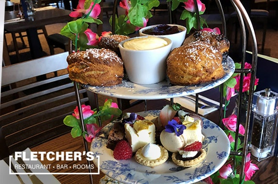 Afternoon tea at Fletcher's Stirling