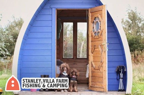 Glamping pod stay - from £39