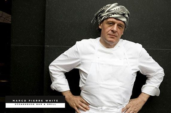 Marco Pierre White food & drinks voucher