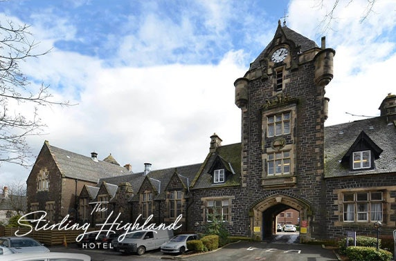 4* Stirling Highland Hotel - valid 7 days