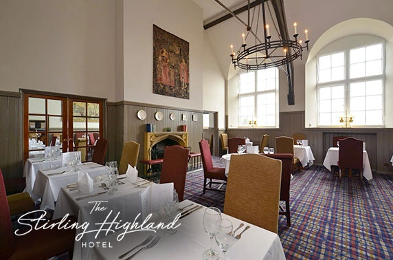 4* The Stirling Highland Hotel spa break from £99