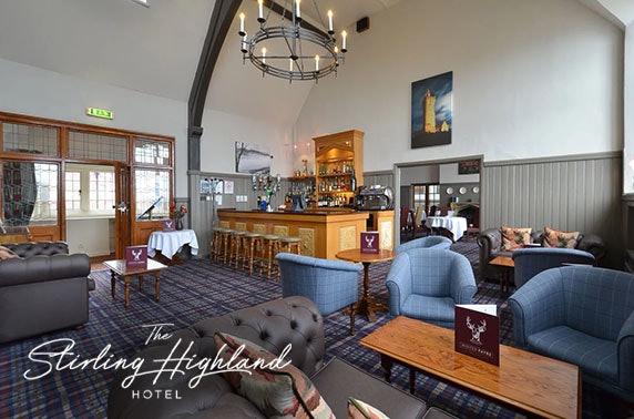 4* Stirling Highland Hotel afternoon tea