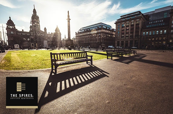 Glasgow City Centre apartment stay - from £25pppn
